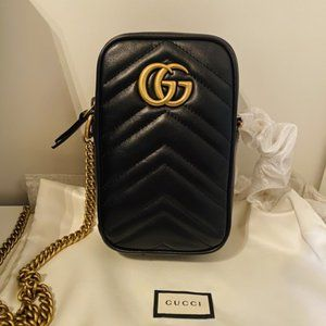New gucci Marmont women's Mini Shoulder Bag